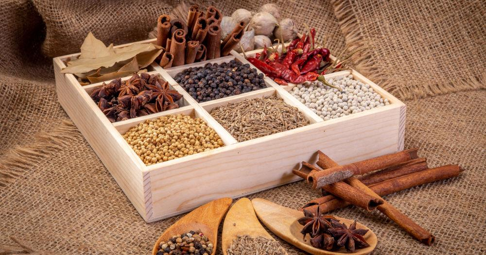 Natural immunity-boosting spices in India