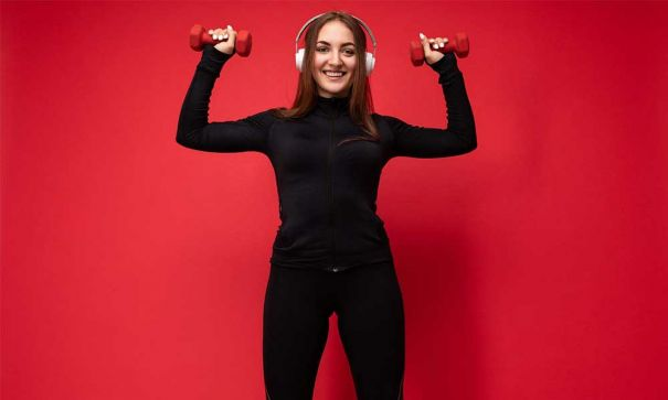 benefits of listening to motivational music in the gym for fitness