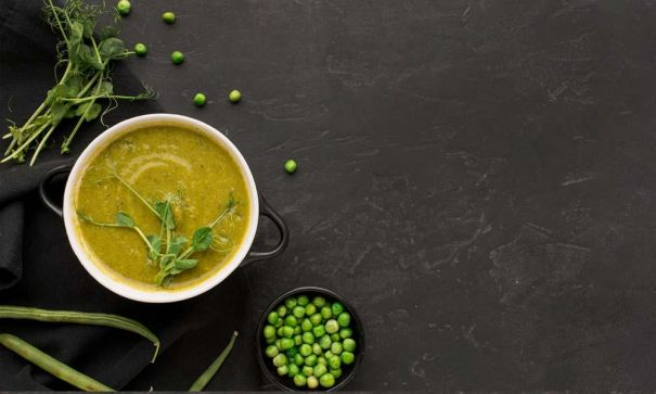 Chilled Pea Soup - 2