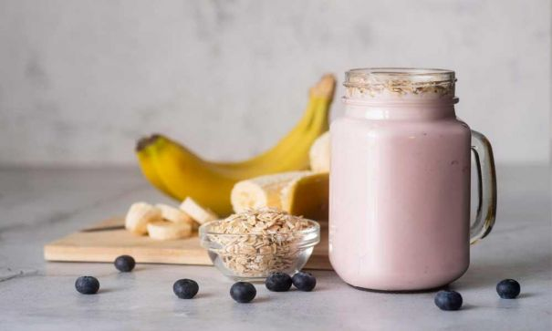 Fruits & Flaxseed Smoothie