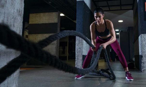 HIIT workouts for virtual fitness trainer at home