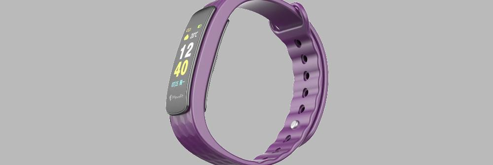 A bold and elegant Fitness Tracker/Band for Men and Women that goes the distance with you!