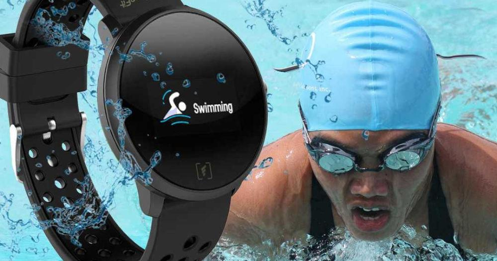 A fitness watch that tracks your moves, even underwater!