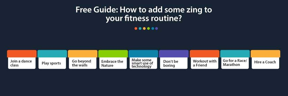 A free printable guide to add more fun at home workouts for beginners and experts