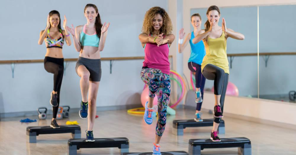 Burn Fat With Step Aerobics!