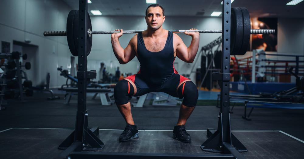 Barbell Squats 2 sets, 12 repetitions