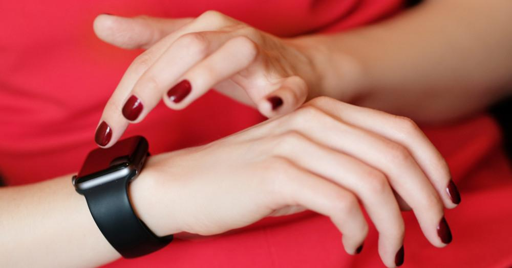 By Using Wearable Technology
