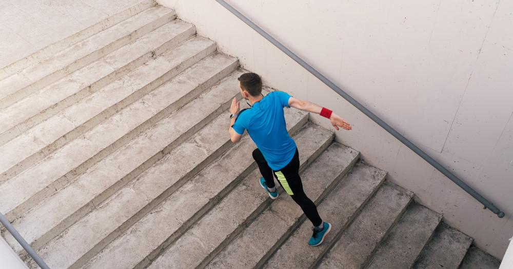 Climbing stairs for weight loss