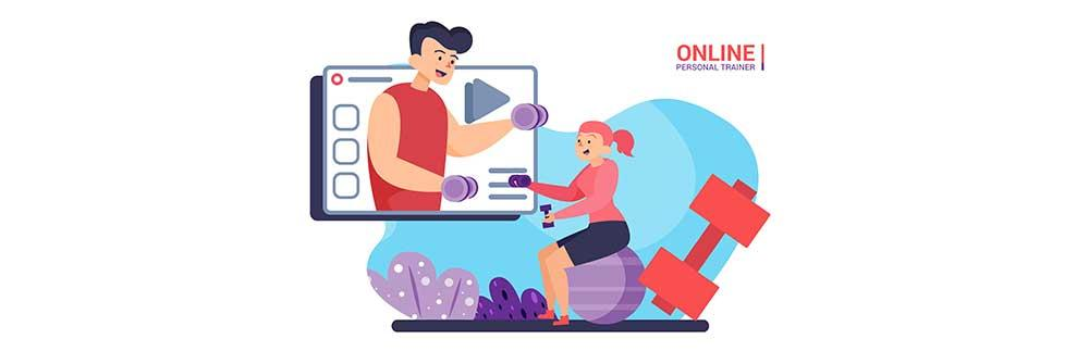 consult an online fitness trainer to lose weight at home