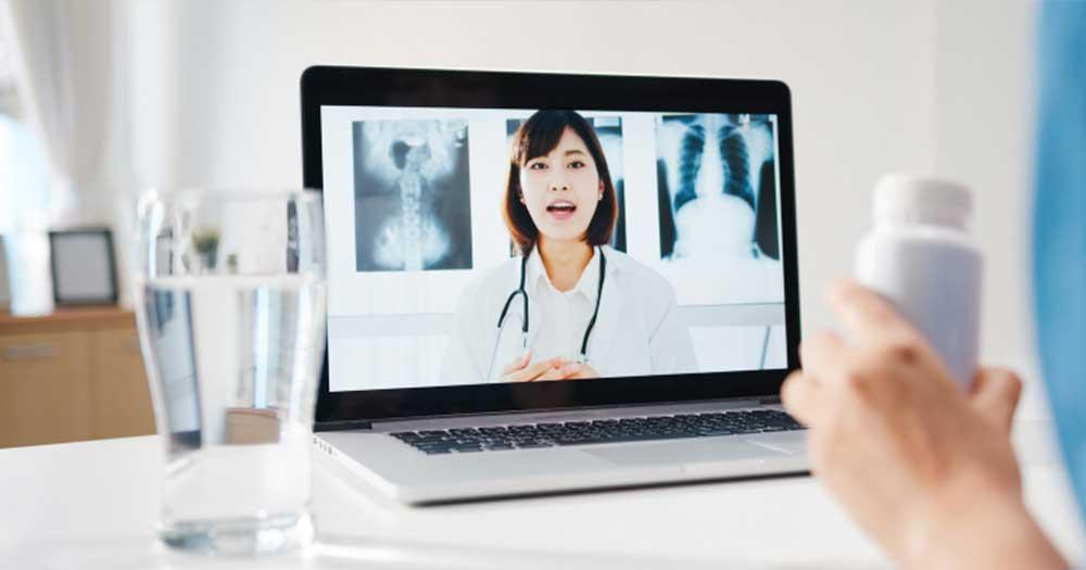 consulting a doctor online telehealth for mushroom side-effects