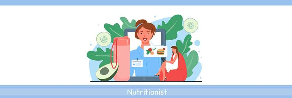 consulting an online dietitian or nutritionist virtually for the best diet plan