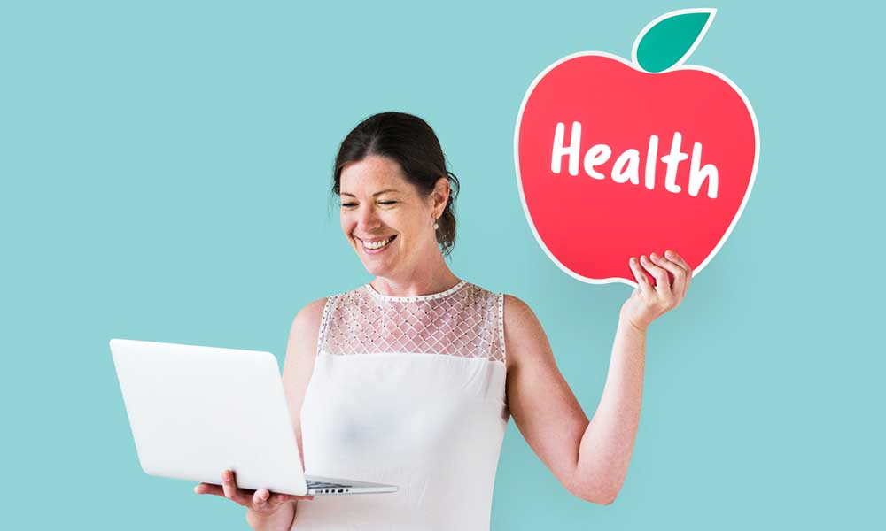 consulting virtual wellness expert for nutrition and diet and to burn fat