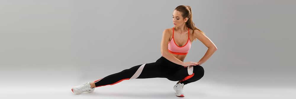 easy HIIT workout exercises for women with a fitness trainer for faster weight loss