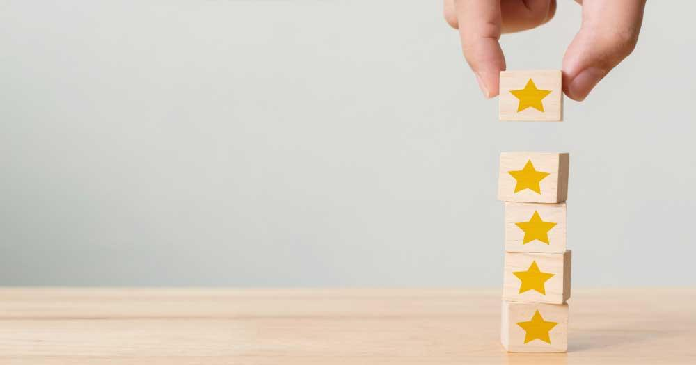 Enable / Control User Ratings for your Services to build and showcase Trust