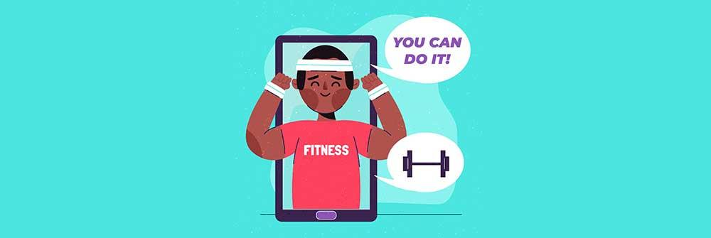 experienced virtual fitness trainer and sprint runner for 5k race