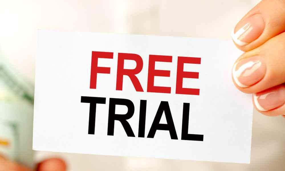 Get started with a free trial today