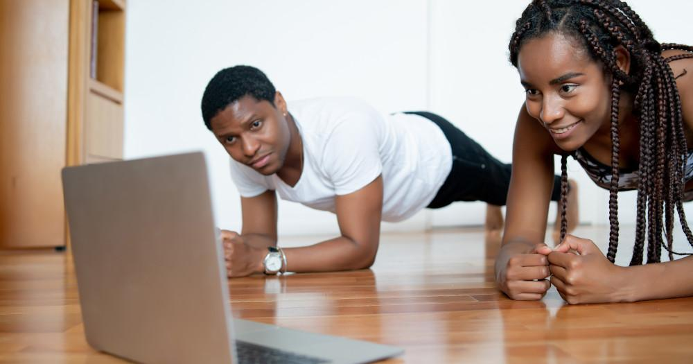 How About Working Out Online, Under Expert Guidance?