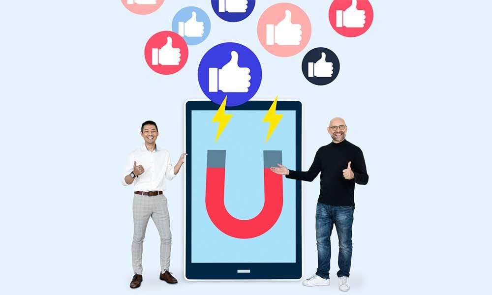 how to generate marketing leads from social media