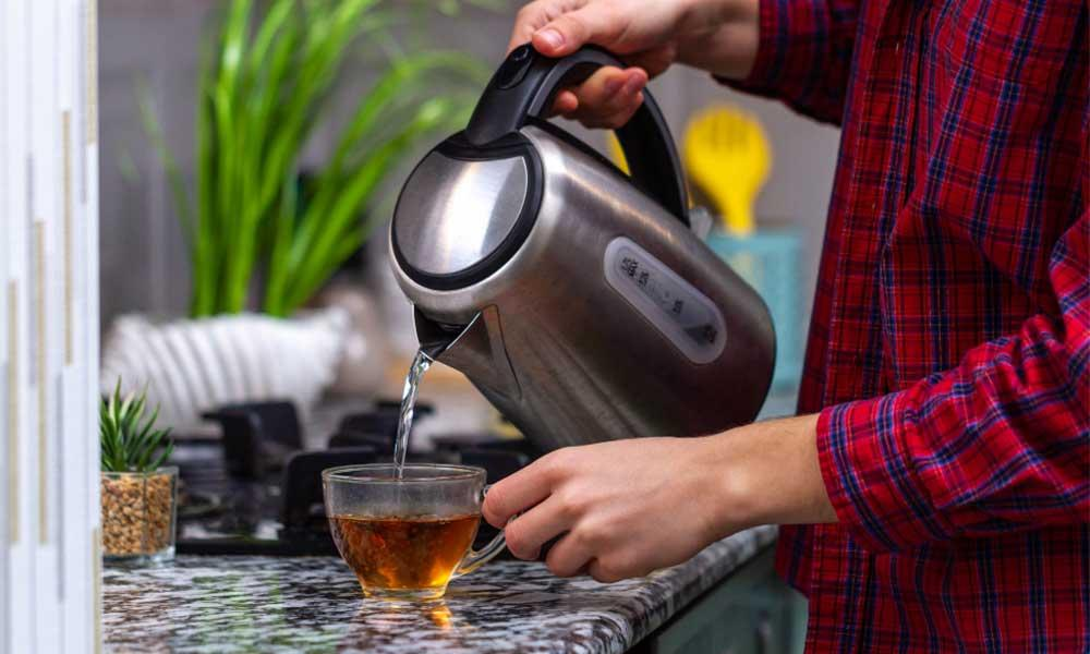 how to make green tea at home?