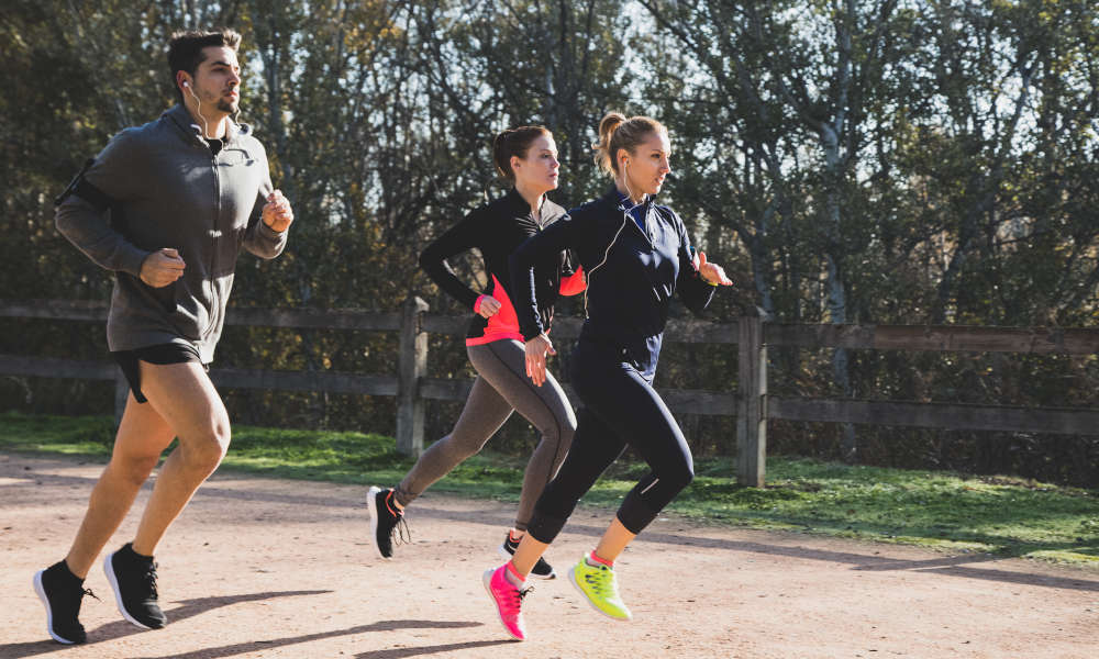 How running changes your body?