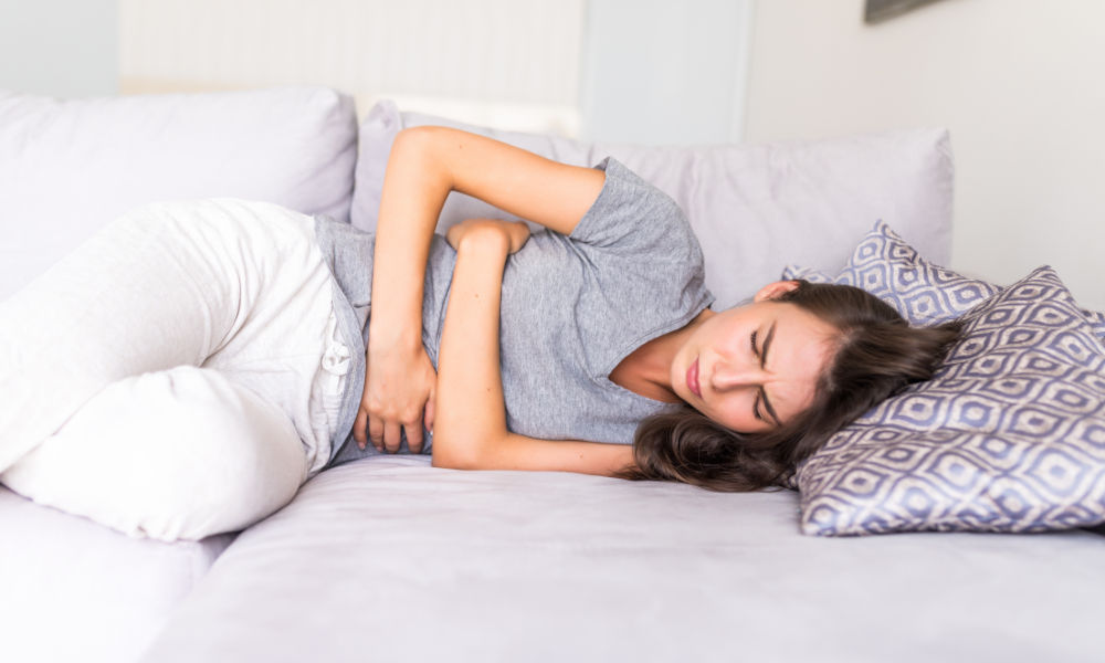 It can cause back pain and even fever too!