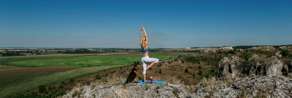 Look out for travel-friendly workouts