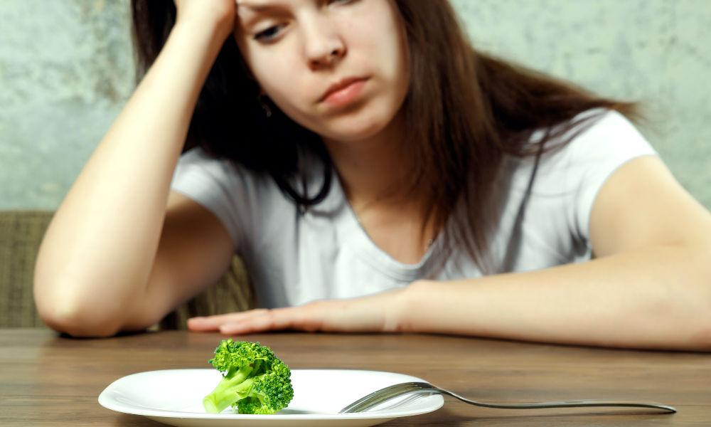 Not eating properly after completing a workout