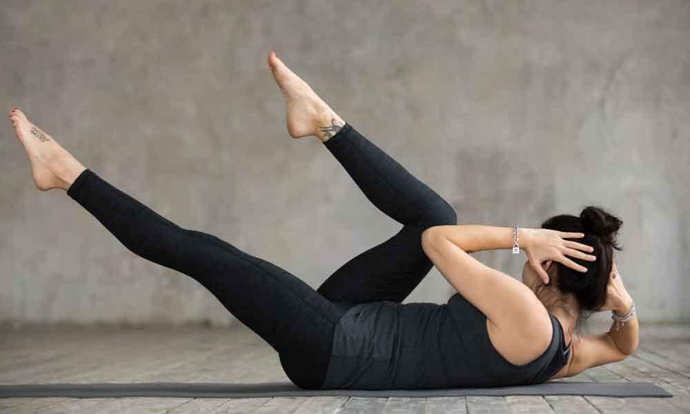 Oblique rotations for abs workout