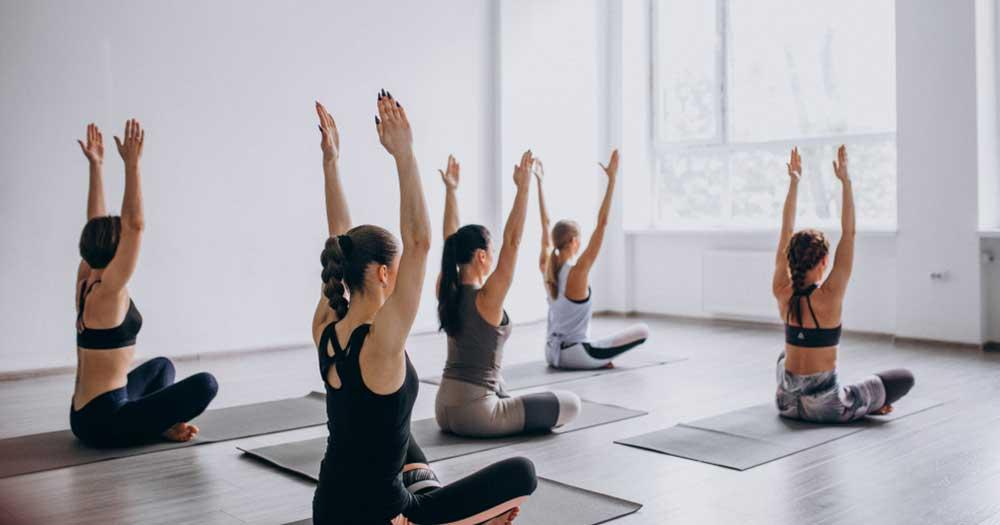 offering group exercise classes as an expert
