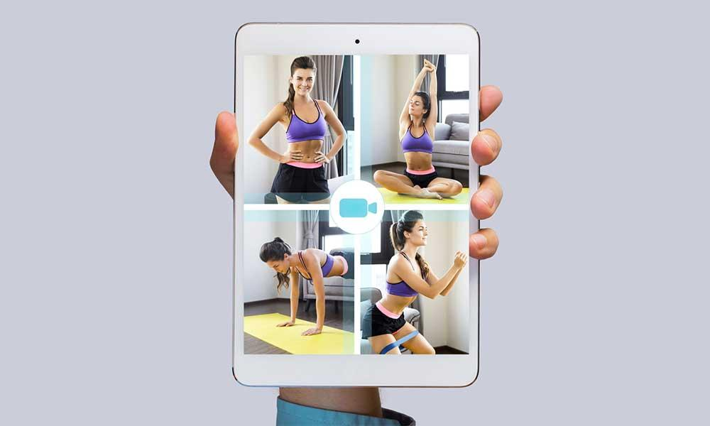 offering online personal fitness training sessions