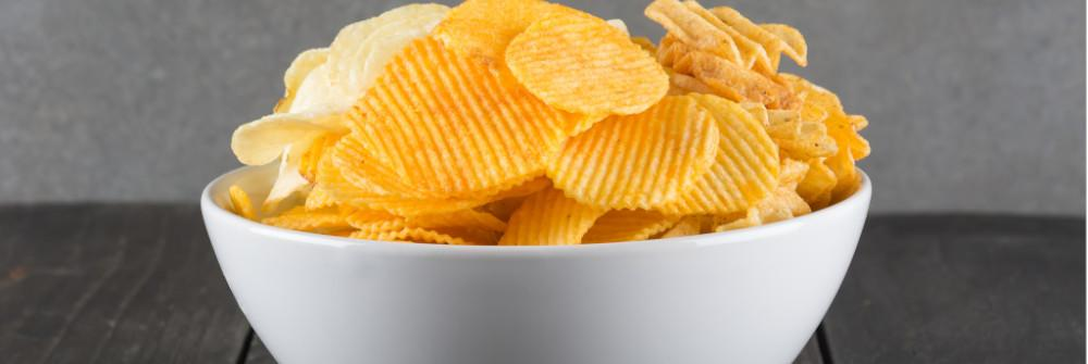 Potato chips (especially those packaged with nitrogen)