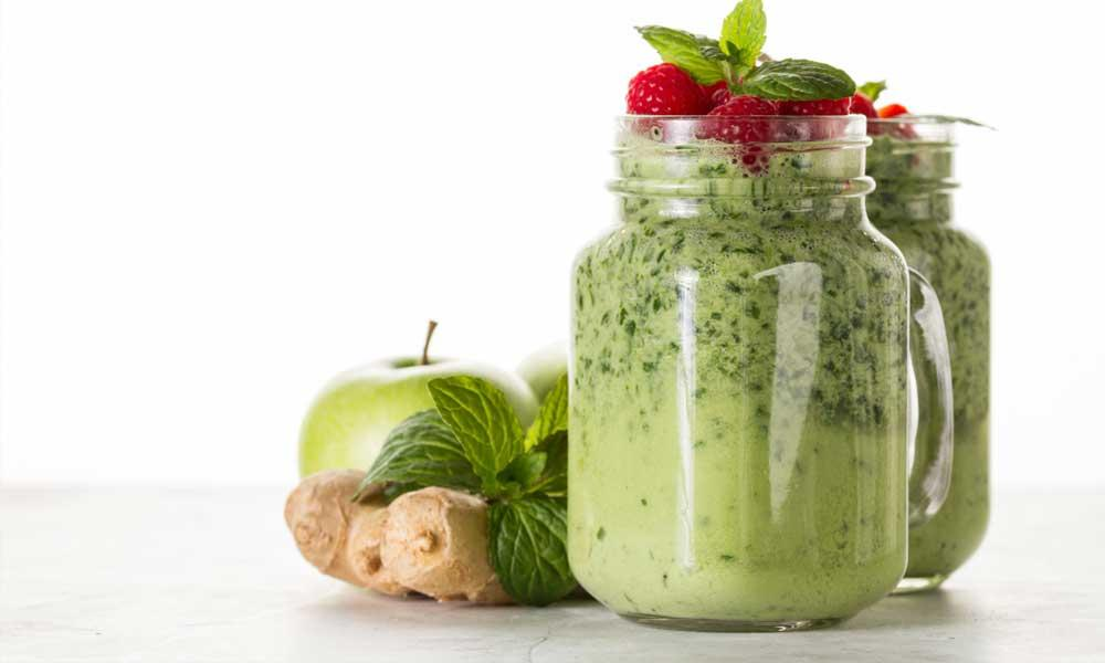 Pre-workout: Green smoothie