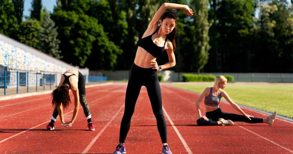 significance of stretching and warming up before running for fitness