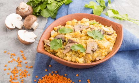 Reach-Your-Weight-Loss-Goal-With-Mushroom-And-Lentils