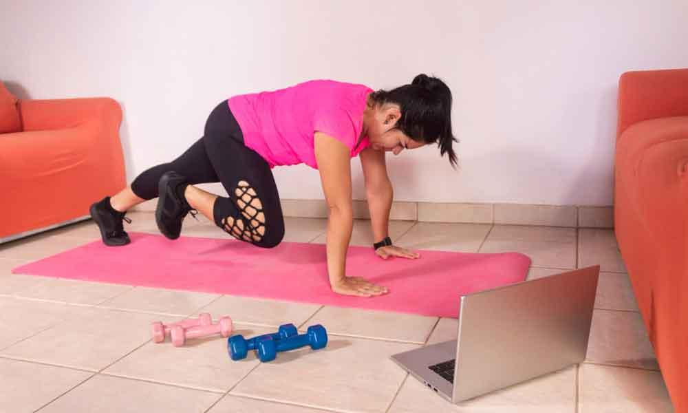 The best online workouts are free!