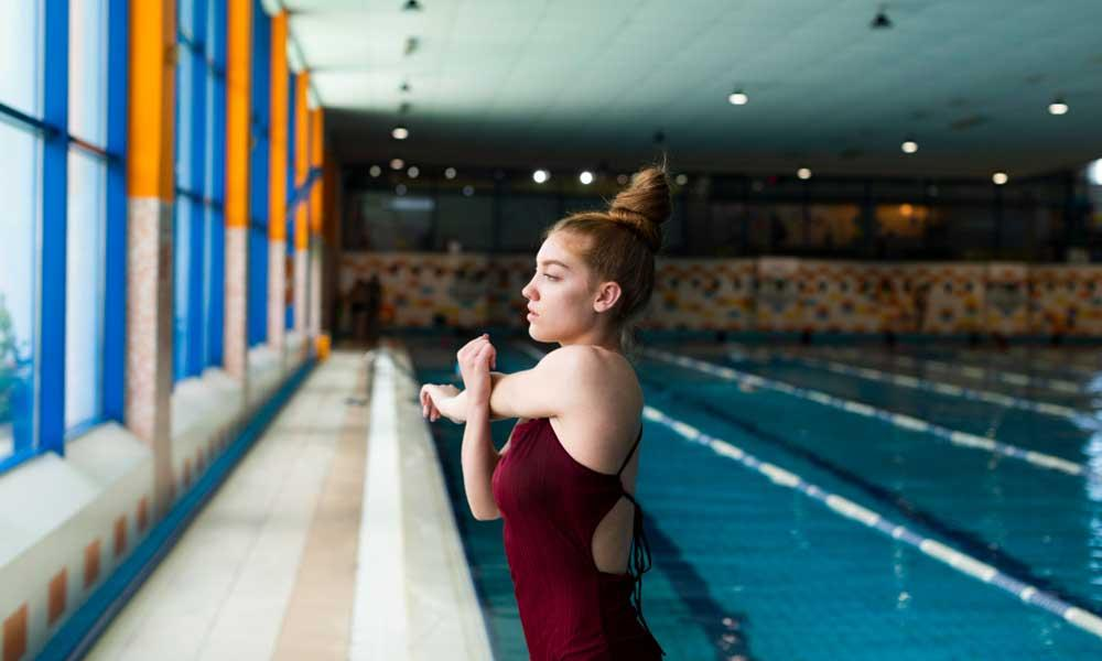the importance of stretching for swimmers