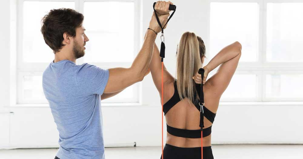 trx triceps extension for upper arms