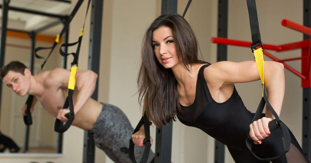 TRX Triceps Extensions