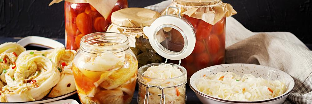 Popular Lacto-fermented foods