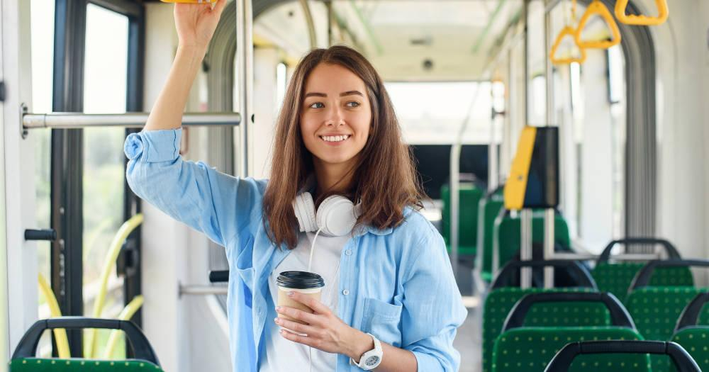 Benefits of taking the bus or train