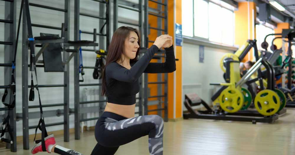 what are lunges and how to do them at home?