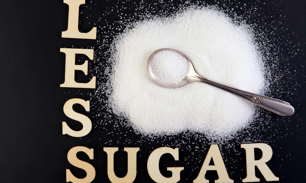 What are the benefits of consuming less sugar in your life?