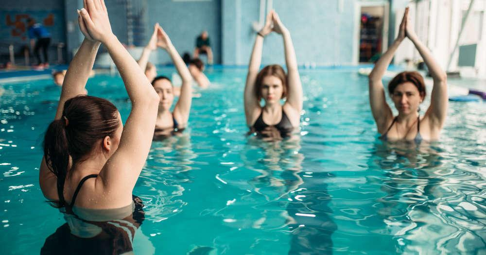 Workouts In Water! - 5